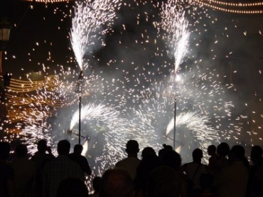 Street Fireworks are popular all year round in Guardamar!