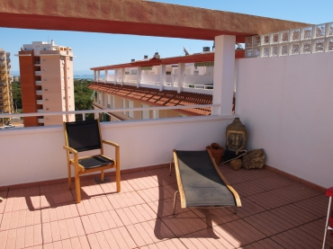 Huge private fully furnished roof terrace